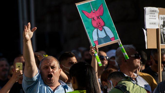 Bugarski demonstranti traže od Berlina i Brisela da ne žmure pred korupcijom 2