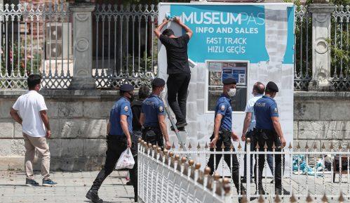 Grčki protesti u Kongresu SAD 11