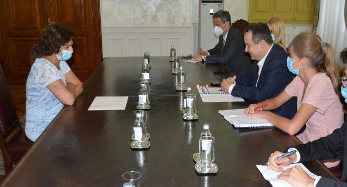 Dačić primio u oproštajnu posetu ambasadorku Izraela 3