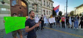 Protesti građana nastavljeni u više gradova Srbije (FOTO/VIDEO) 6