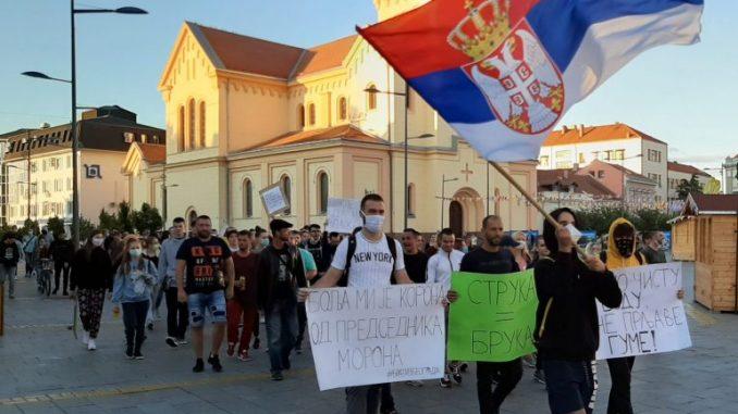 Protesti građana nastavljeni u više gradova Srbije (FOTO/VIDEO) 1