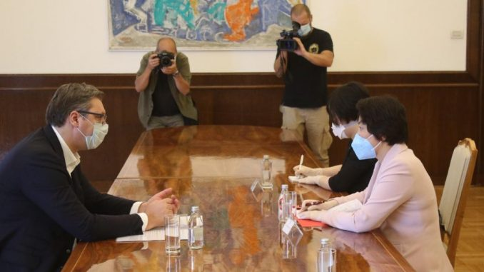 Vučić zadovoljan napretkom u razvoju vakcine protiv virusa Korona 3