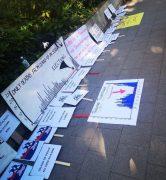 Protest ispred konzulata Srbije u Hamburgu (FOTO, VIDEO) 3