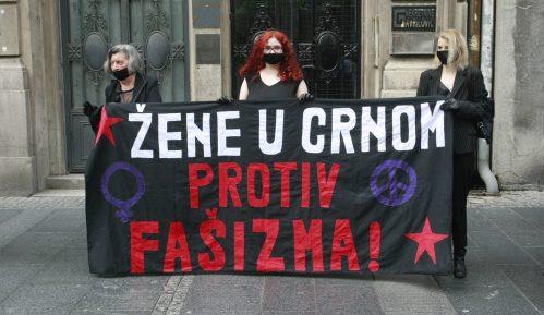 Skup Žena u crnom 10. jula u Beogradu povodom 25 godina od genocida u Srebrenici 4