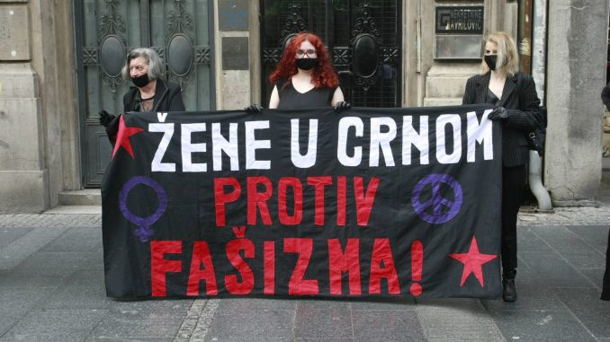 Skup Žena u crnom 10. jula u Beogradu povodom 25 godina od genocida u Srebrenici 2