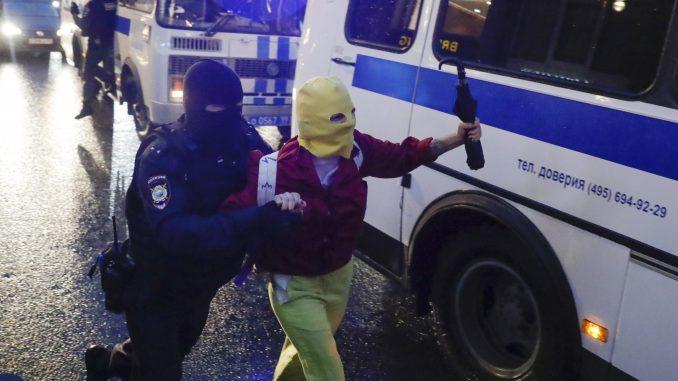 Ruska policija uhapsila više od 100 ljudi posle demonstracija u Moksvi (FOTO) 2