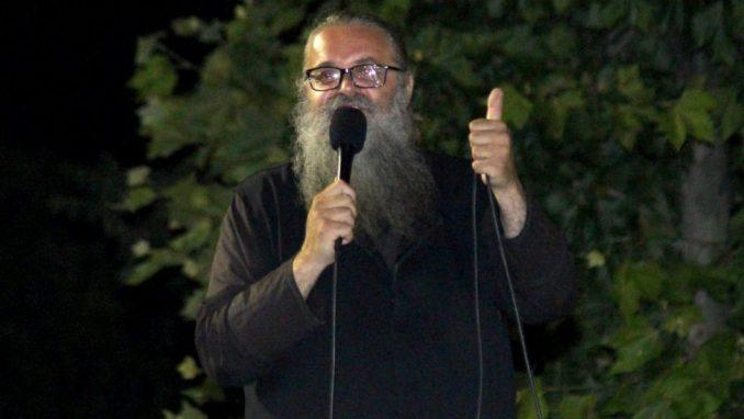 Policija saslušala monaha Antonija na zahtev tužilaštva (VIDEO) 1