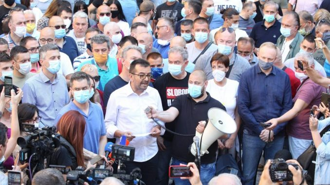 SZS: Dogovoreno formiranje Udružene opozicije Srbije 2
