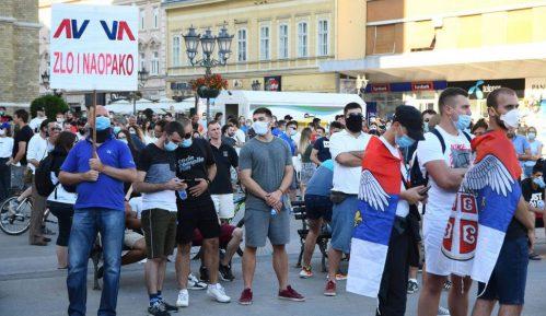 Pogačar pozvao građane da dođu ispred CZ-a i zahtevaju oslobađanje uhapšenih 4