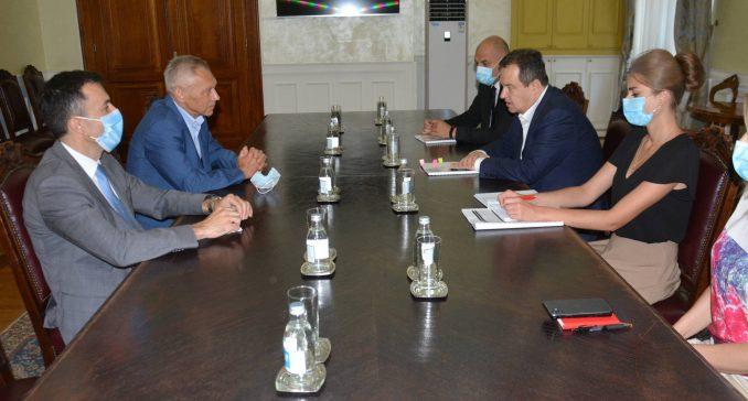 Dačić i Harčenko o poseti Lavrova i koroni 1