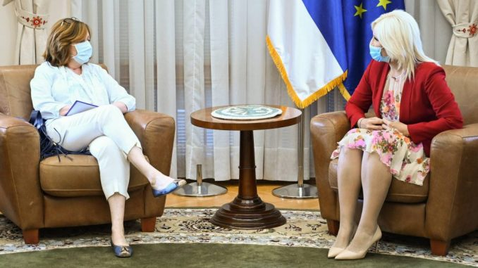 Mihajlović sa direktorkom EBRD za Zapadni Balkan o nastavku saradnje 4