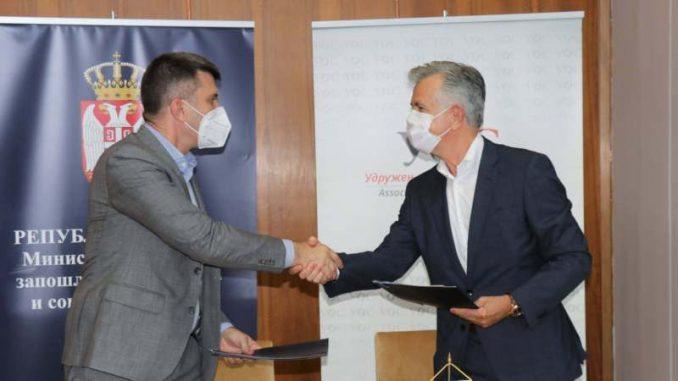 Potpisan ugovor o renoviranju poda sale u Palati Srbije 4