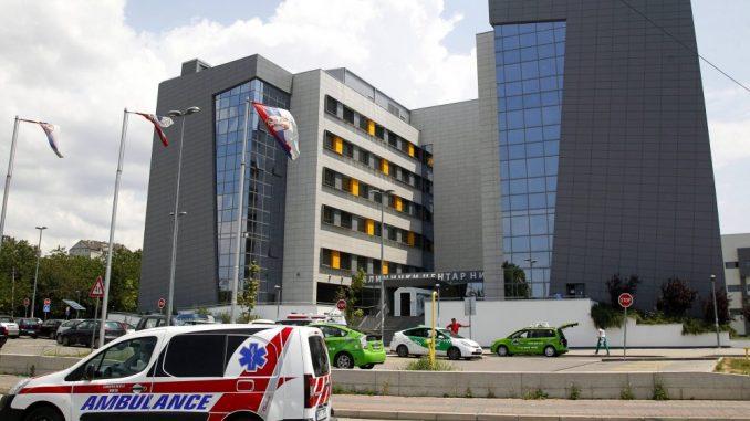 Muškarac povređen vazdušnim jastukom u ozbiljnom stanju u KC Niš 2