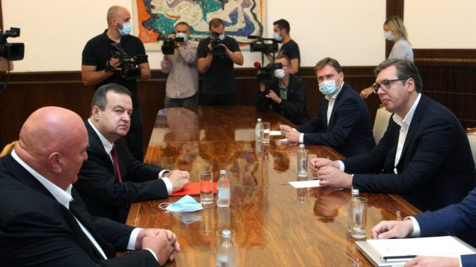 Dačić: Sastanak bio opširan i detaljan, imamo iste ciljeve za budućnost 1