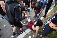 Policija rasterala demonstrante suzavcima i oklopnim vozilima iz centra Beograda (VIDEO, FOTO) 10