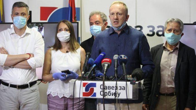 SSP zahteva hitno puštanje na slobodu Noga i Radojičića 1