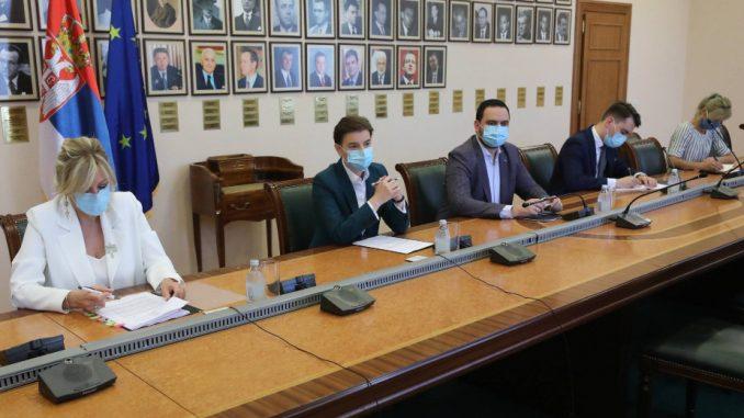 Brnabićeva sa ambasadorima EU o korona virusu i situaciji u zemlji 3