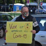 Protest ispred konzulata Srbije u Hamburgu (FOTO, VIDEO) 14