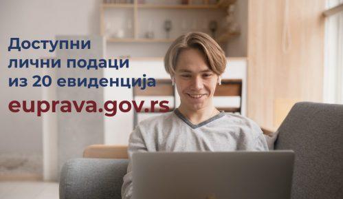 Na portalu eUprava dostupni podaci iz 20 evidencija i registara 4