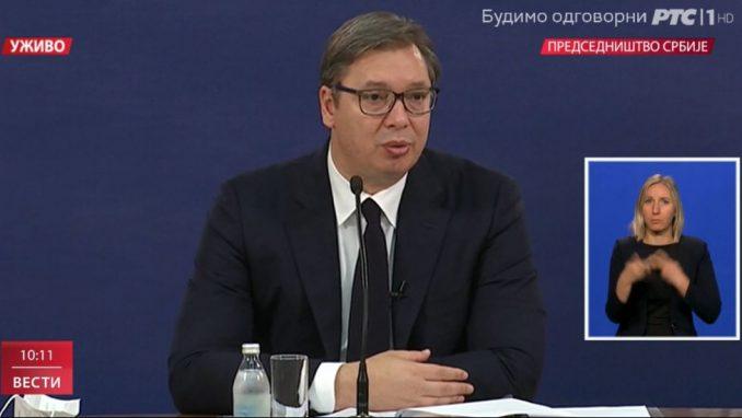 Vučić: Tražićemo da se razgovara o ZSO 1