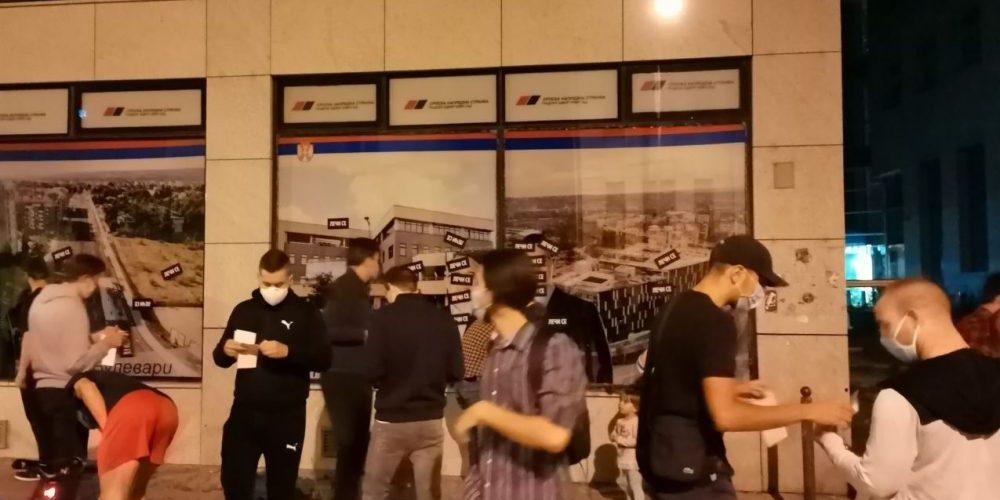 Mirno protestovali i Novosađani, danas novi protest 1