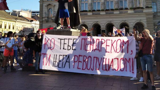 Uhapšen Miran Pogačar, jedan od inicijatora protesta u Novom Sadu 4