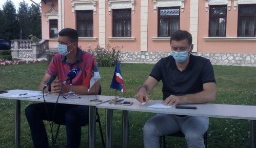 Zelenović odgovorio na optužbe SNS da manipuliše epidemiološkom situacijom u Šapcu 14