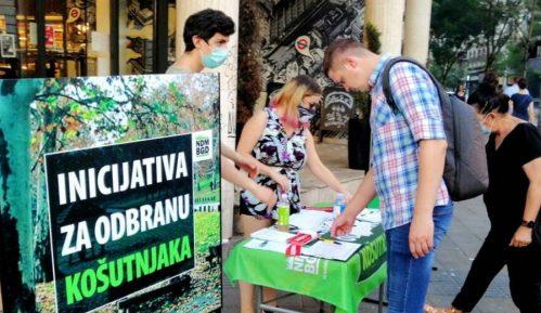 Ne davimo Beograd: Više od 70.000 potpisa za odbranu Košutnjaka 14