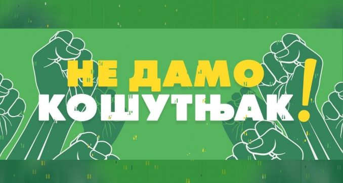 Zelena stranka: U jednom danu 1.196 potpisa peticije za odbranu Кošutnjaka 2