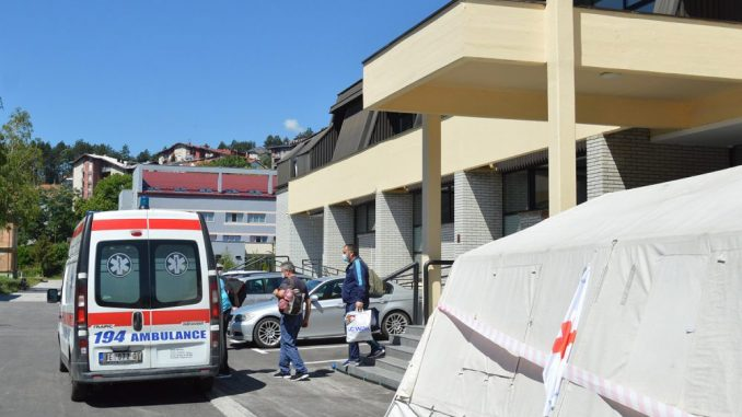 Kovid bolnica u Užicu primila prve pacijente 3