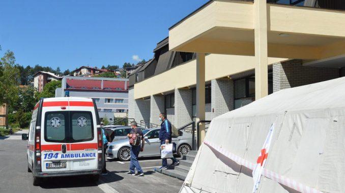 Kovid bolnica u Užicu primila prve pacijente 2
