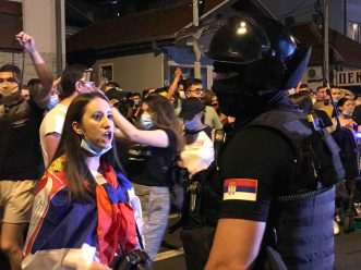 Protesti u više gradova Srbije (VIDEO) 11