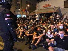Protesti u više gradova Srbije (VIDEO) 9
