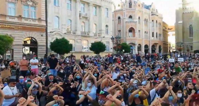 Protesti u više gradova Srbije (VIDEO) 1