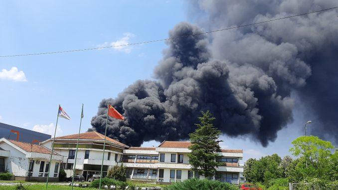 Ministarstvo: Pre požara utvrđene nepravilnosti u požarevačkoj firmi za reciklažu 2