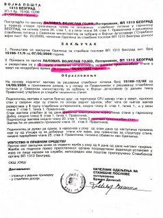 Pukovnik Lalović: Da sam po zakonu bio na radnom mestu, nikada ne bi došlo do ovoga 3