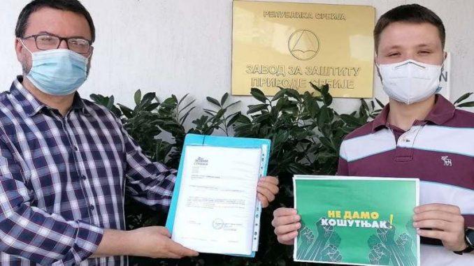Predata peticija od 5.000 potpisa za očuvanje Košutnjaka 3
