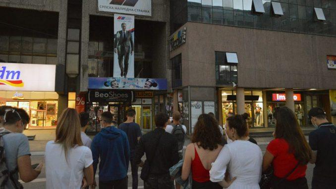Užice: Pritvor zbog gađanja banera sa likom Vučića 1