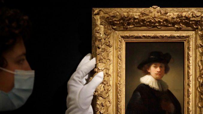 Rembrantov autoportret prodat za 18,7 miliona dolara na aukciji 3