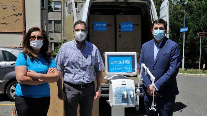 UNICEF nastavlja sa obezbeđivanjem respiratora zdravstvenim ustanovama u Srbiji 3