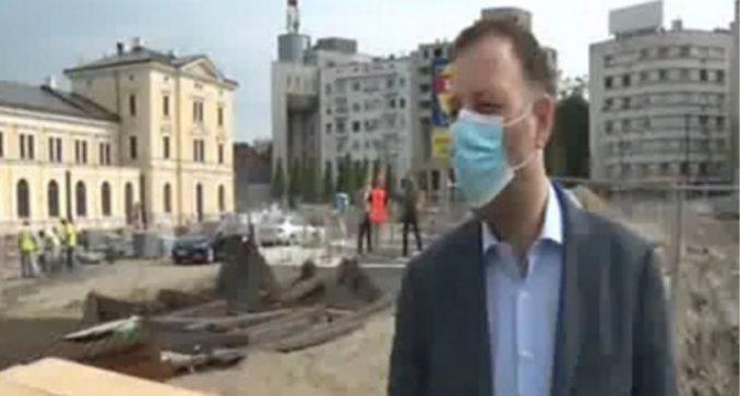 Kompletna rekonstrukcija Savskog trga biće završena za oko četiri meseca 1