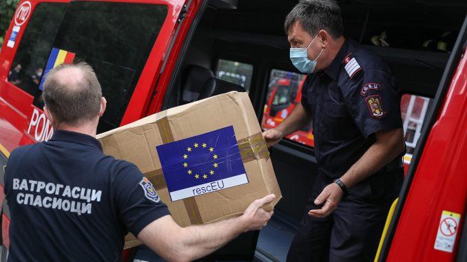 RescEU isporučila 10.000 visokokvalitetnih maski u Beograd 2