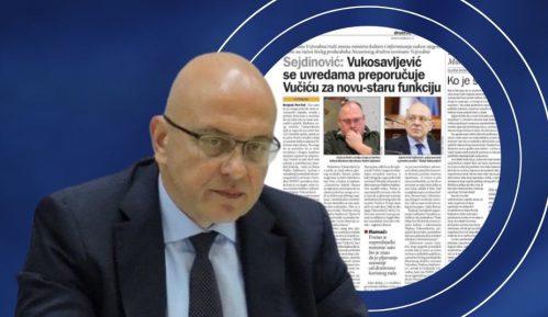 Reakcija Vukosavljevića na tekst u Danasu: Habitat za hor 9