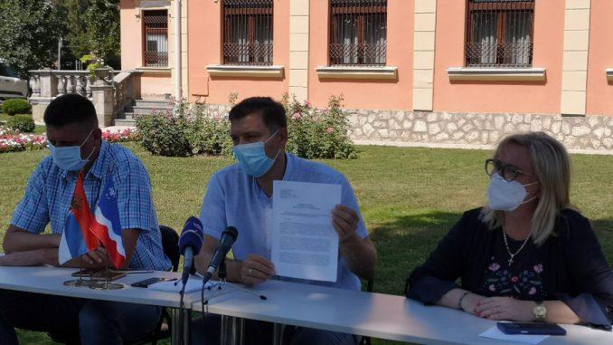 Zelenović traži od Lončara pojačano testiranje brzim testovima kontakata obolelih od kovida 2