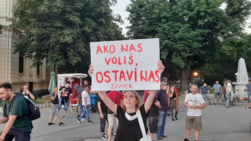 Protesti u više gradova Srbije (VIDEO) 6