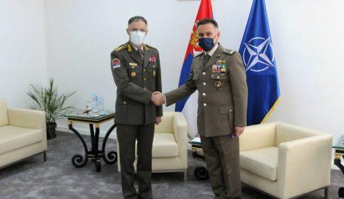 Sastali se načelnik Generalštaba Vojske Srbije i novi šef Kancelarije NATO u Beogradu 1