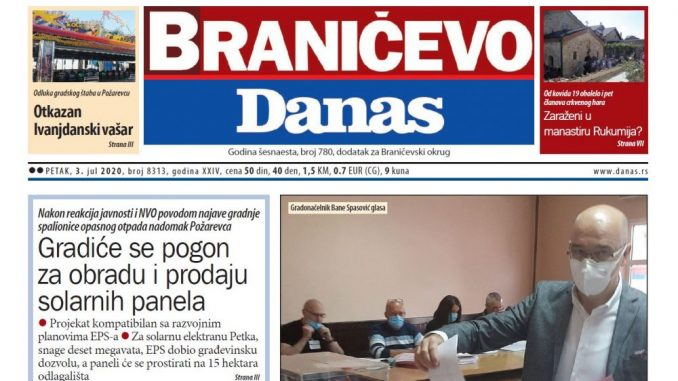 Braničevo Danas - 3. jul 2020. (PDF) 1