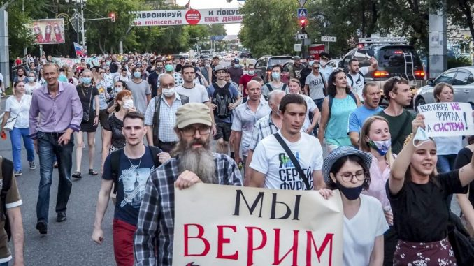 Protesti protiv Kremlja potresaju krajnji istok Rusije 2