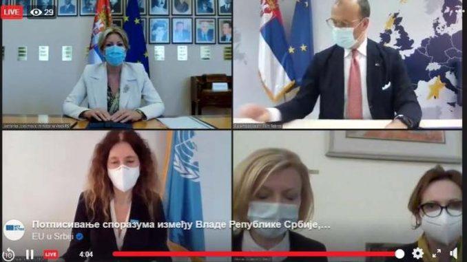 EU finansira 200 medicinskih radnika u Srbiji 2