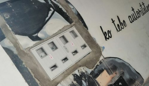 Nije vandalizam nego osvežavanje Flekinog prolaza 14